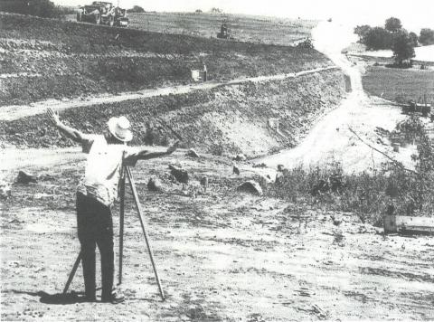 upper salt 3-a watershed damn construction from 1966